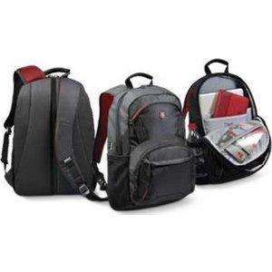 Port Designs Houston Nylon Black Backpack 110265 Bags