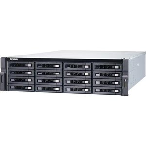 Qnap Ts-1673u Rx-421nd Ethernet Lan Rack (3u) Black Nas Ts 1673u 8g/192tb Exos Storage Media