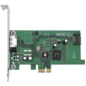 Siig Esata Ii Pcie I/e Adapter Interface Cards/adapter Sc Sae212 S2 Computer Components
