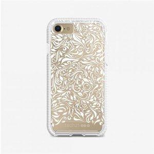 "Tech21 Evo Check Lace Edition Mobile Phone Case 11.9 Cm (4.7"") Cover Gold White T21 5673 Computer Cases"