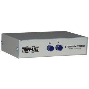 Tripp Lite 2-port Manual Push Button Vga/svga Video Switch - Metal B112 002 R Cables, Parts & Power Supplies