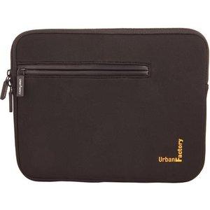 Urban Factory Memory Foam Laptop Sleeve 15.6'' Black Uns06uf Bags