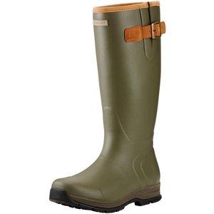 Ariat Burford Mens Wellington Boots Olive Green 7.5 (eu41.5) Mens Footwear, Olive Green