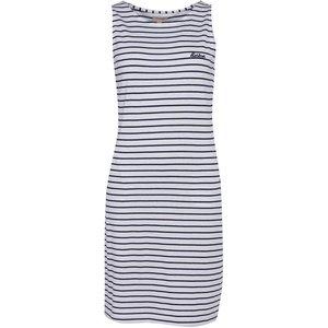 Barbour Dalmore Stripe Dress White/navy 16 Womens Dresses & Skirts, White/Navy