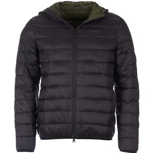 Barbour Mens Benton Quilted Jacket Black Small Mens Outerwear, Black