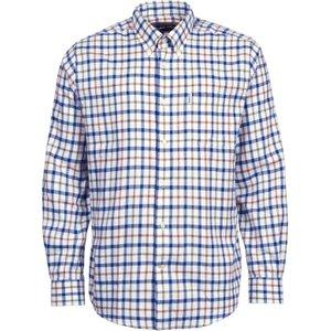 Barbour Thermo-tech Coll Shirt Ecru Large Mens Tops, Ecru