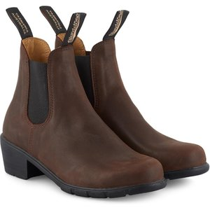 Blundstone Womens 1673 Chelsea Heel Boot  4 (eu37) Womens Footwear