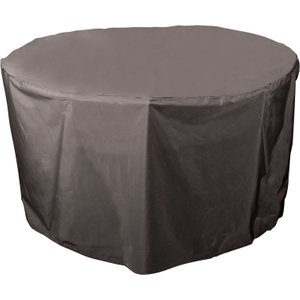 Bosmere Protector 5000 Circular Table Cover 4-6 Seater Storm Black Home Textiles, Storm Black