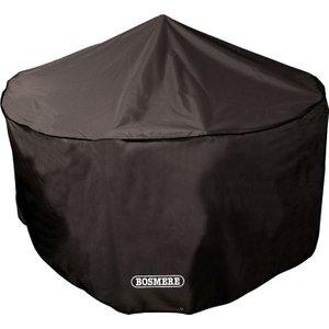 Bosmere Protector 6000 Circular Patio Set Cover 8 Seat Storm Black Home Textiles, Storm Black