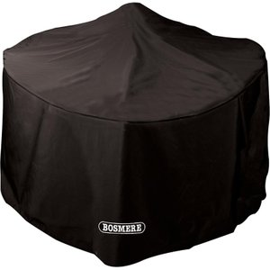 Bosmere Protector 6000 Large Round Fire Pit Cover Storm Black Home Textiles, Storm Black
