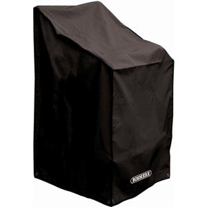Bosmere Protector 6000 Stacking/reclining Chair Cover Storm Black Home Textiles, Storm Black