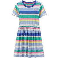 Crew Clothing Girls Jersey Stripe Dress Multi 8-9 Childrens Clothing, Multi