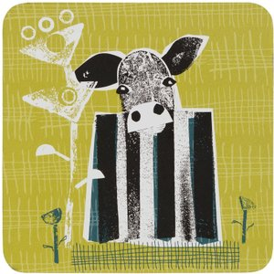Denby Cow Set Of 6 Coasters Kitchen