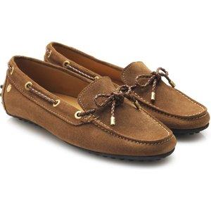 Fairfax & Favor Henley Loafers Tan Suede 4 (eu37) Womens Footwear, Tan Suede