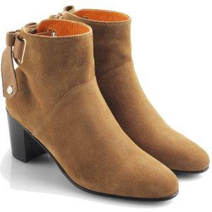 Fairfax & Favor Womens Blair Ankle Boots Tan Suede 7 (eu40) Womens Footwear, Tan Suede