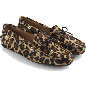 Fairfax & Favor Womens Henley Loafers Jaguar Hair Calf 5 (eu38) Womens Footwear, Jaguar Hair Calf