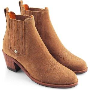 Fairfax & Favor Womens Rockingham Ankle Boot Tan 7 (eu40) Womens Footwear, Tan