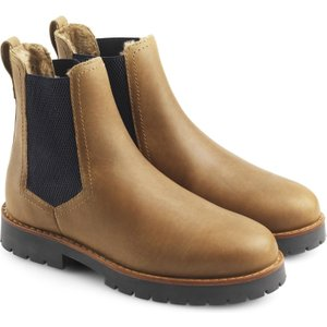 Fairfax & Favor Womens Sheepskin Boudica Boot Oak 7.5 (eu41) Womens Footwear, Oak