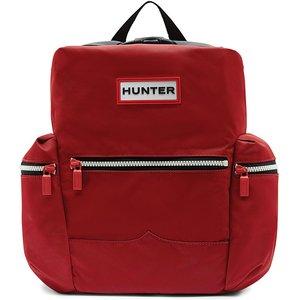 Hunter Original Topclip Mini Backpack Military Red Bags, Military Red