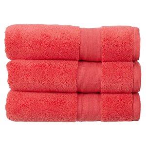 Kingsley Carnival Towels Coral Bath Mat Bathrooms & Accessories, Coral