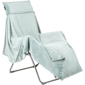 Lafuma Flocon Fleece Throw For Recliners Fjord Sheds & Garden Furniture, Fjord