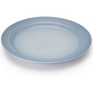Le Creuset Side Plate 22cm Coastal Blue Crockery, Coastal Blue