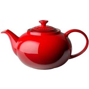 Le Creuset Stoneware Classic Teapot Cerise Crockery, Cerise