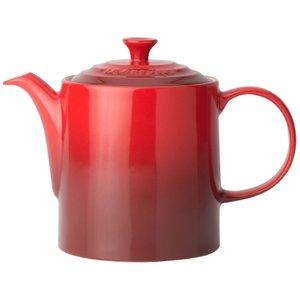 Le Creuset Stoneware Grand Teapot Cerise Crockery, Cerise