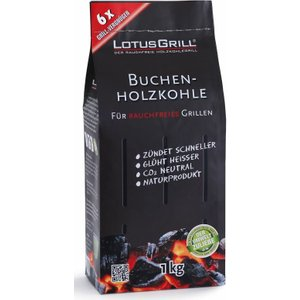 Lotusgrill Beech Charcoal Bag 1kg Barbecues & Accessories