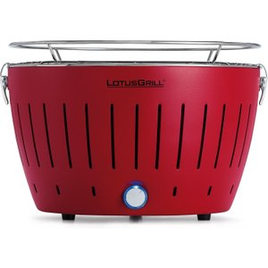 Lotusgrill Smokeless Charcoal Grill Bbq Red Barbecues & Accessories, Red