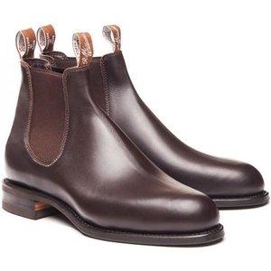 R.m. Williams Mens Comfort Turnout Boots Chestnut 7.5 (eu41.5) Mens Footwear, Chestnut