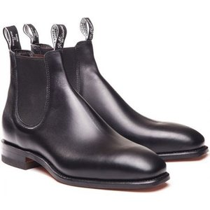 R.m. Williams Mens Craftsman Boots Black 8.5 (eu42.5) Mens Footwear, Black