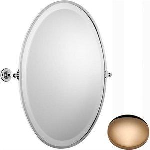 Samuel Heath Antique Framed Oval Mirror N4346 Antique Gold Regular Bathrooms & Accessories, Antique Gold