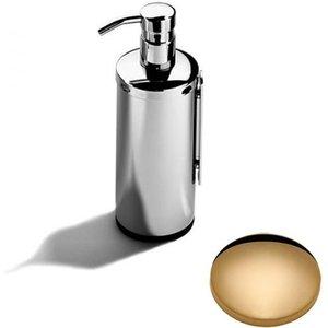 Samuel Heath Novis Wall Mounted Soap Dispenser L303 Non Lacquered Brass Bathrooms & Accessories, Non Lacquered Brass