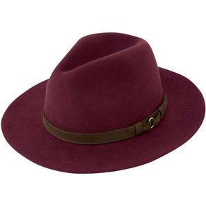 Schoffel Womens Willow Fedora Hat Fig Medium Womens Accessories, Fig