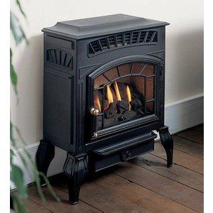 Burley Esteem 4221 Flueless Gas Stove Heating & Cooling