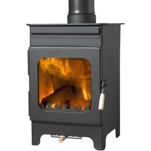 Burley Hollywell 9105-c 5kw Ecodesign Wood Stove Heating & Cooling