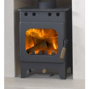 Burley Springdale 3kw Defra Wood Stove Heating & Cooling