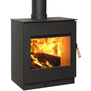 Burley Swithland 9308-c 8kw Ecodesign Wood Stove Heating & Cooling