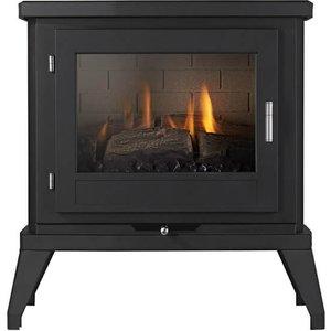 Ekofires Eko Fires 6030 Black Flueless Gas Stove Heating & Cooling
