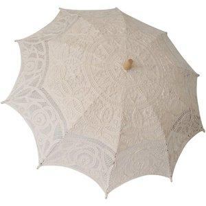 Powell Craft Lace Parasol - Cream