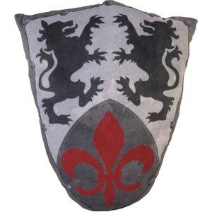 K Play International Ltd Pillow Fight - Medieval Knights Fleur Shield