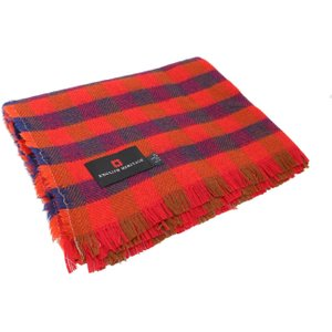 Tweedmill Textiles Ltd Recycled Wool Throw - Large Check