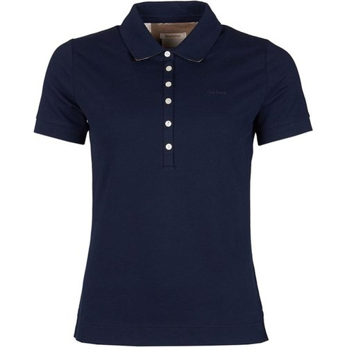 J Barbour & Sons Ltd Stonehenge Barbour Ladies Navy Polo Shirt