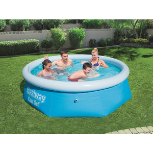 Bestway 8ft X 26inch Fast Set™ Above Ground Swimming Pool 8x26 Fast Set Pool Only