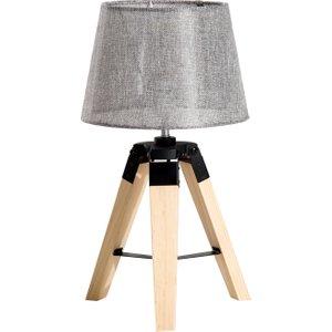 Homcom Tripod Table Lamp-grey
