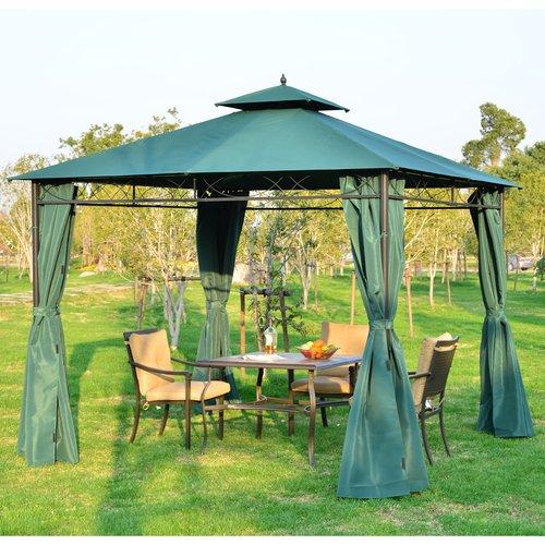 Aosom UK Gazebos Ideas - Update your parasols, canopies & shade with these current Aosom UK gazebos.