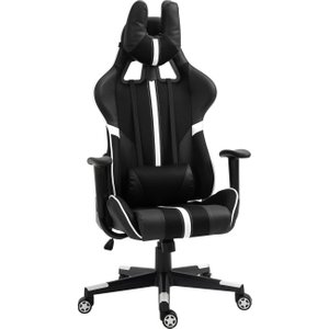 Vinsetto Racing Gaming Chair Reclining Swivel Chair Adjustable Height With Headrest And Lu