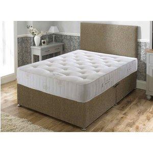 Bed Butler Pocket Royal Comfort 3000 Divan Set - Double (4'6 X 6'3), Medium, 2 Drawers, Hy