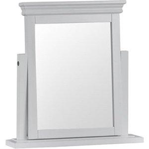 Westpoint Mills Cambridge White Trinket Mirror